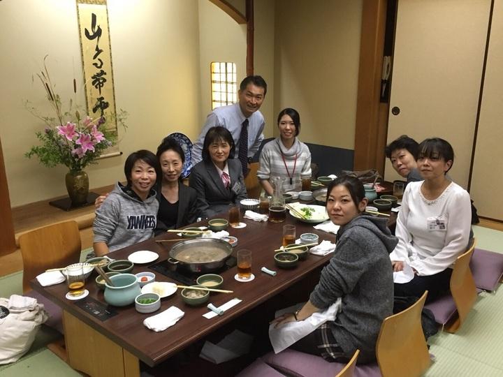 川崎西・大井営業所合同食事会