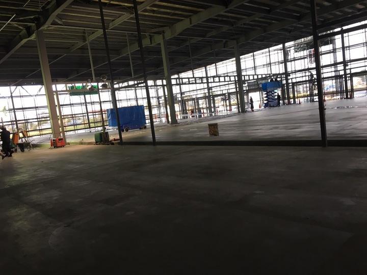 新一宮センターあと二ヶ月で完成‼️