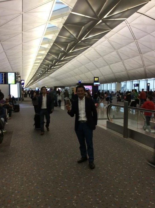 香港乗継‼️