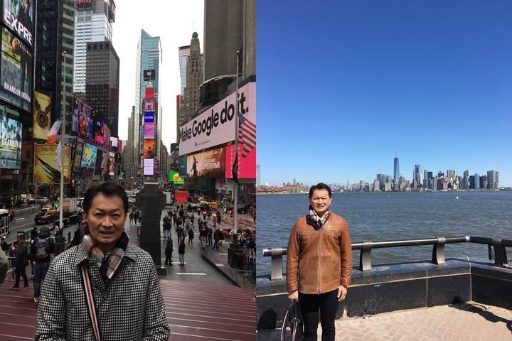 in ニューヨーク ❣️