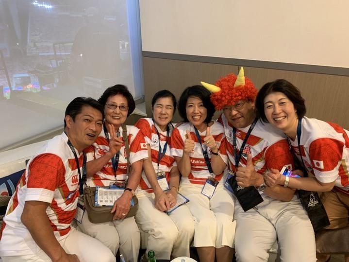 ワールドカップ ラクビー  サモア戦観戦❣️