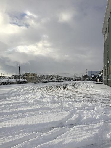 名古屋は2005年以来の大雪でした。