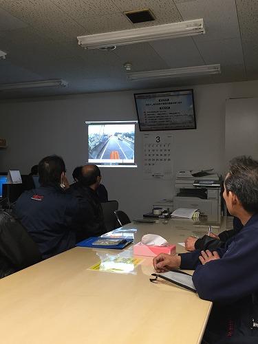 名古屋北(営)でのドライバーズミーティングを開催しました。