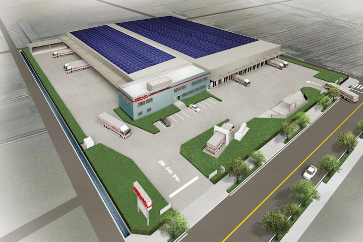 一宮新センターの完成予想CGです。