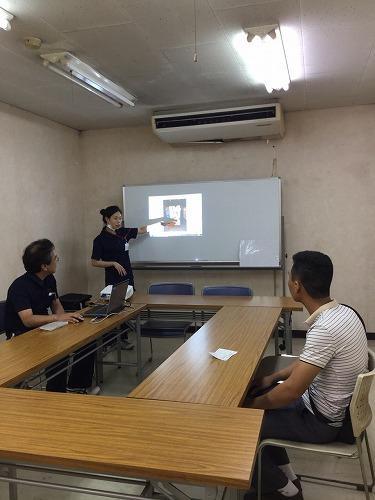 ベトナム人留学生説明会を実施しました。