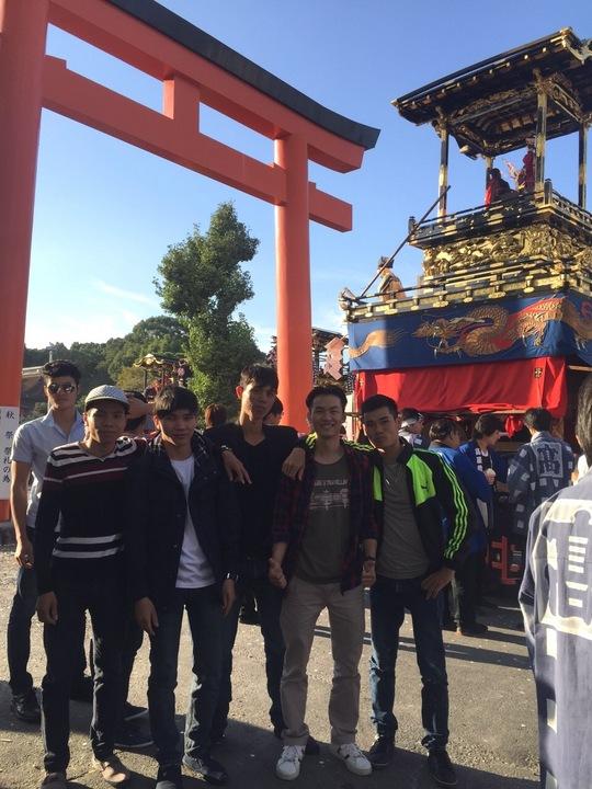 津島のお祭り。