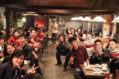 名古屋南(営)ベトナム留学生食事会を開催しました!