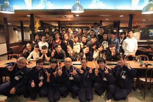 名古屋南(営)留学生食事会を開催しました!
