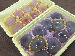 夏の手作りお菓子を頂きました!