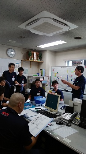 羽島(営)ドライバーズミーティングを開催しました。
