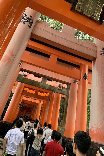 外国人スタッフの慰安旅行で京都に行って来ました。