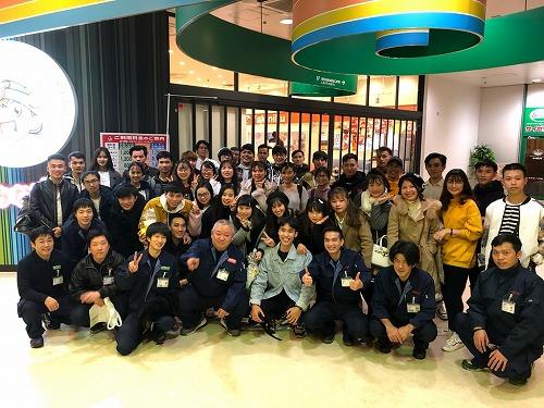 留学生食事会を開催しました。(@名古屋南(営))