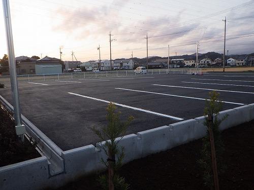 藤枝(営)の駐車場が完成しました!