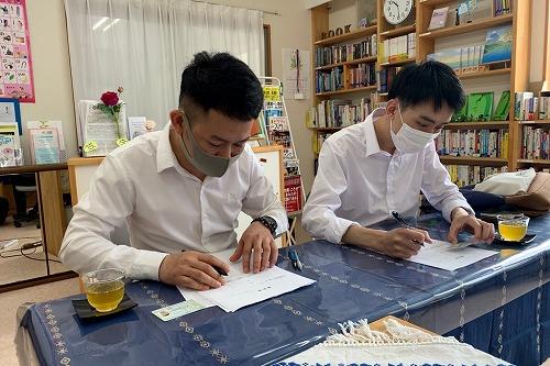 新卒の外国人スタッフの仲間が増えます。