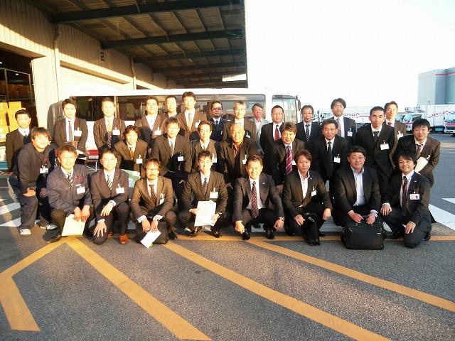 兵庫県トラック協会青年部様が企業見学に来社されました!