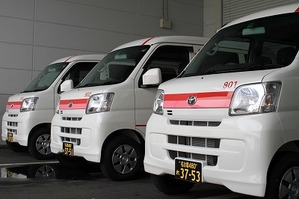 貨物軽自動車運送専用車輌です。